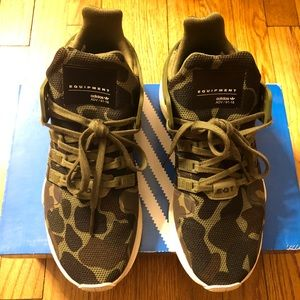 new styles 0c4cc 25614 adidas Shoes - Adidas Camp EQT Support ADV Camo Olive